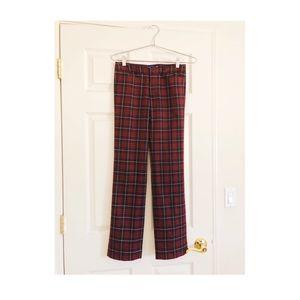 Burberry Blue Label tartan trousers